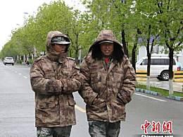 新疆北部大幅降温:气温逼近零度
