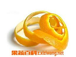 橘子皮中的美容功效
