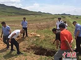 内蒙古两座古墓被盗