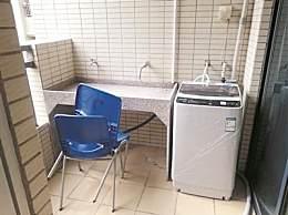 共享洗衣机装进每间学生宿舍