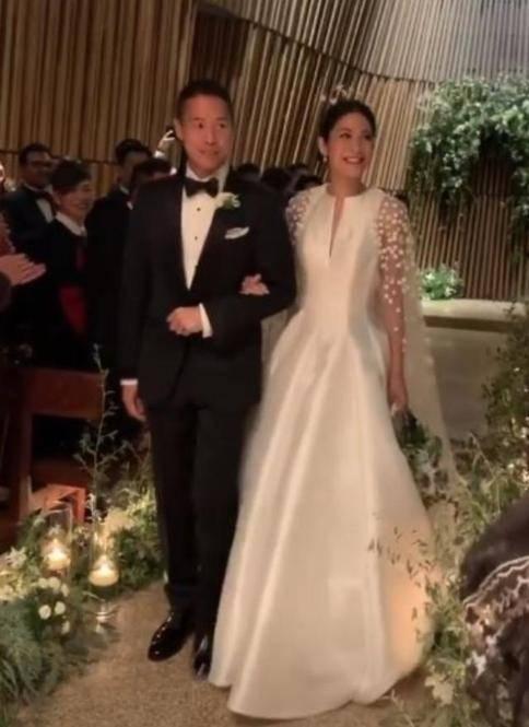 张惠妹前任结婚举行婚礼