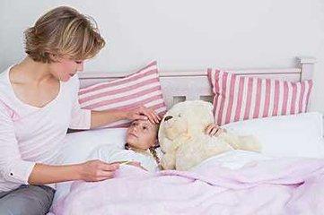 宝宝发烧什么时候使用热毛巾
