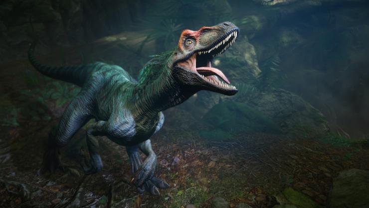 VR带你重回侏罗纪世界 与恐龙同行