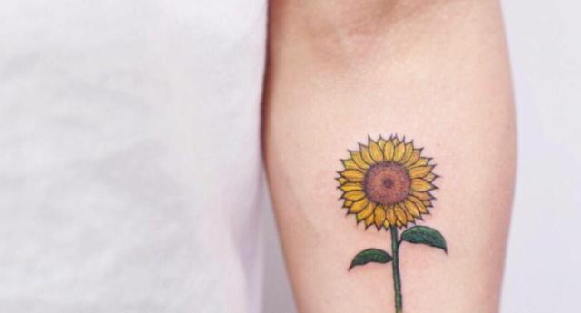 适合女生纹身的小清新图案图片