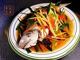 火红细丝蒸午鱼&炸酿豆腐