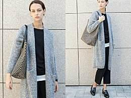 针织外套、阔腿裤、高领毛衣…