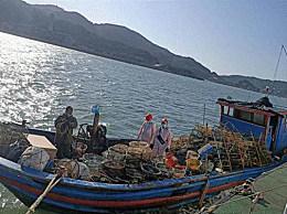 台当局扣押大陆渔船拘捕4人