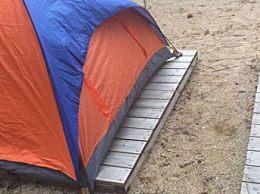 户外搭帐篷的步骤