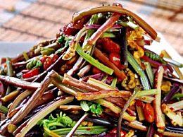 干蕨菜怎么做不苦好吃