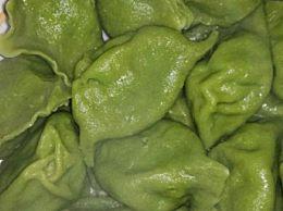 翡翠餃子皮的怎么做比較綠