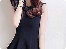 微胖穿直筒款小黑裙好看吗