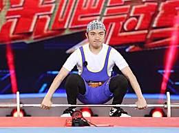 来吧冠军2举重特辑贾乃亮挑战55kg 陈建州爆发超强臂力