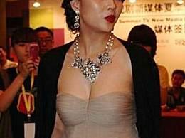37岁殷桃为了抢镜豁出去了!全场看呆,网友:没人敢这么穿