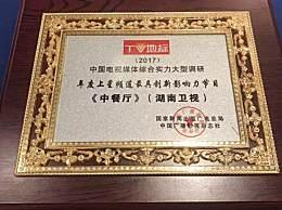 """湖南卫视斩获""""TV地标""""两项大奖 2018继续引领创新潮流"""