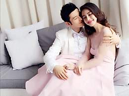 夫唱妇随,黄晓明宣传新片,杨颖哭得那叫一个梨花带雨