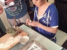 演员王晓晨:在家自己包饺子,水饺包得水平也太高啦!