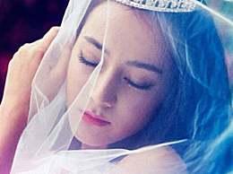 当娱乐圈单身女星穿上婚纱,网友:看到迪丽热巴就想嫁