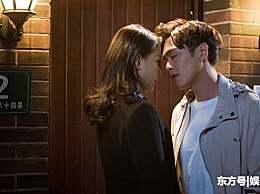 唐艺昕看见剧中自己的男友张若昀和孙怡表白,表情十分有趣