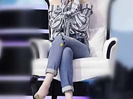 刘亦菲太能作!穿着牛仔裤还敢把腿扭成麻花,网友:自然点更美