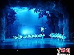 """俄罗斯百年芭蕾舞剧院河北献艺 演绎""""最古典""""《天鹅湖》"""