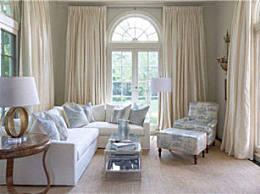 客厅的窗帘颜色如何选择   窗帘颜色选择禁忌有哪些