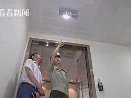 预防火灾减少隐患 黄浦消防突击检查超高层办公楼