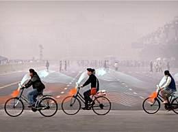 骑车也能净化雾霾 这款自行车真的是绿色出行
