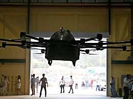 """菲律宾发明家造出飞行汽车 """"无人机汽车""""成功起飞!"""