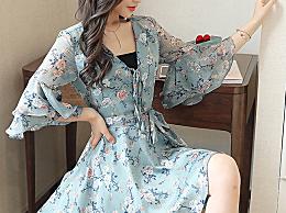永不过时的夏季时尚单品:百搭碎花连衣裙,仙女必备