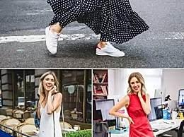 当裙子遇上运动鞋――绝美无敌!