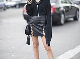 直筒裙是腿型修正液 美腿变直不是梦