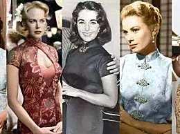 西方佳人穿上中国旗袍会是什么韵味呢?看看这些女星谁最美!