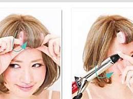 2款女孩自己弄螺丝烫发型教程,回头率十足!