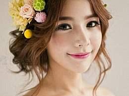 韩式鸟窝头新娘盘发步骤图片 很气质淑女