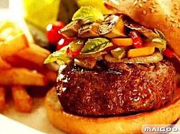 盘点世界各国最好吃的20种汉堡