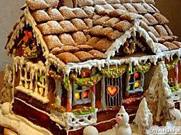 精心制作的姜饼屋 好吃有好看的最美姜饼屋