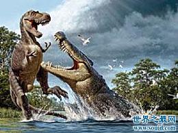 猪鳄最喜欢的食物就是恐龙 五大恐鳄鱼之一