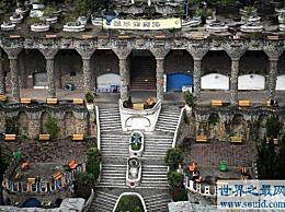 世界上最大的厕所,可容纳1000人同时上厕所