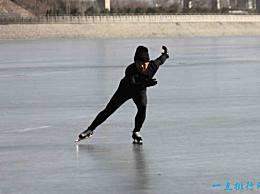 世界上最大的天然溜冰场 一条11公里长的专业跑道