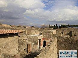 哪个国家是被火山爆发摧毁的庞贝古城