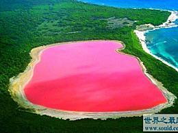 世界上最浪漫的粉色溪乐湖 自然粉色的美丽令人窒息