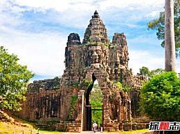 柬埔寨丛林中的吴哥窟 世界上最大的寺庙/千年荣耀(奇观)