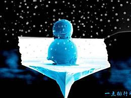 世界上最小的雪人科学家的圣诞礼物