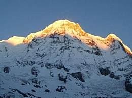 世界十大高峰 珠穆朗玛峰以海拔8848米居第一