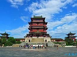 中国古代的四大建筑最好是爬得高一点 看看风景