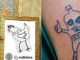 世界上最丑的纹身不是精致而是自然独特(客人络绎不绝)