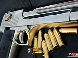 世界上最漂亮的枪 沙漠之鹰手枪王很强大