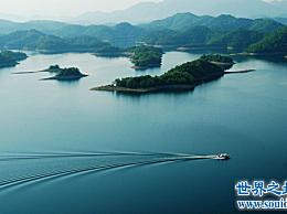 中国最大的淡水湖:江西省鄱阳湖面积3283平方公里