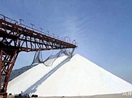 中国最大的盐田年产盐300万吨