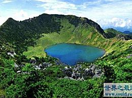 韩国最高的山 在济州岛的任何地方都能看到